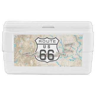 add your photos route 66 cooler3 chest cooler