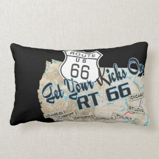 add your photos route 66  pillow 1