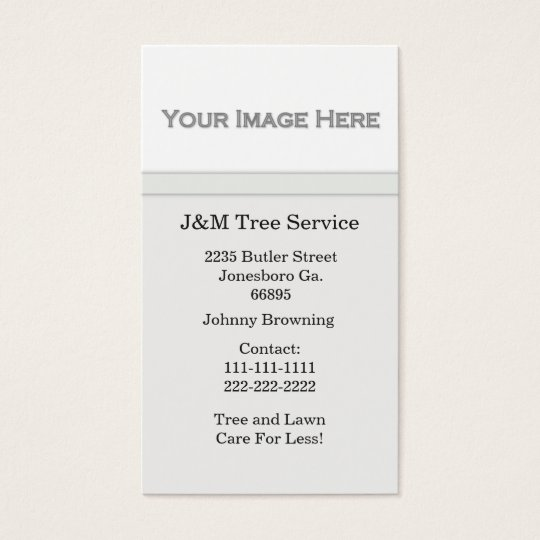 Add Your Picture Business Card