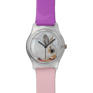 Add YOUR RABBIT PHOTO Watch Template