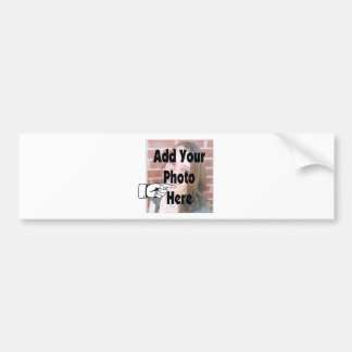 Add your special Photograph Picture Bumper Sticker