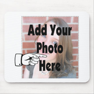 Add your special Photograph Picture Mouse Pad