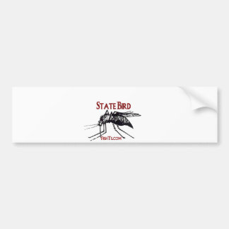Add Your State Name-State Bird Car Bumper Sticker