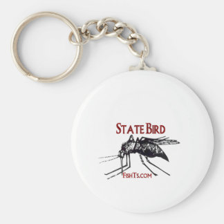 Add Your State Name-State Bird Keychain