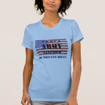 Add Your Step Child's Name Proud Army Stepmom  Shi Shirt