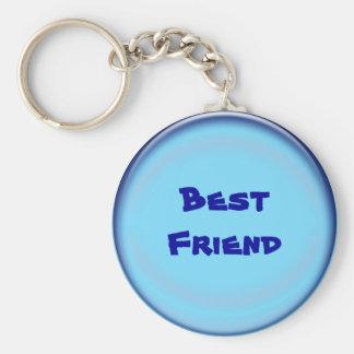 Add your text, best friend keychain