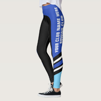 """Add Your Text"" Customisable, Side Stripe Leggings"