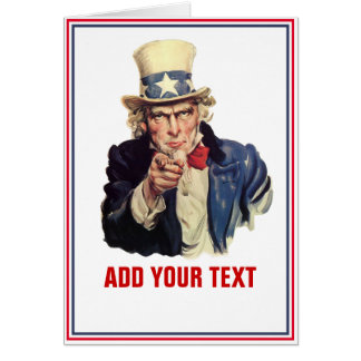 Add Your Text Greeting Cards