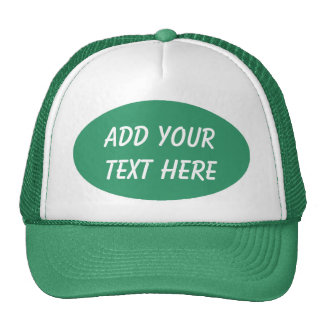 ADD YOUR TEXT HERE-HAT TRUCKER HAT