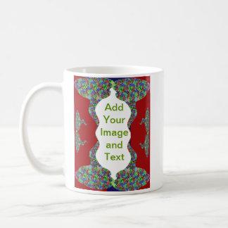 Add your text - Oriental Kiss my Lips Design Classic White Coffee Mug