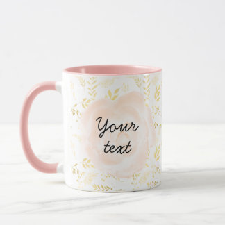 Add your text & photo template mug