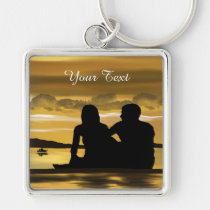 premium, square, keychain, party, waterproof, gifts, birthday, customize, love, romance, Keychain with custom graphic design