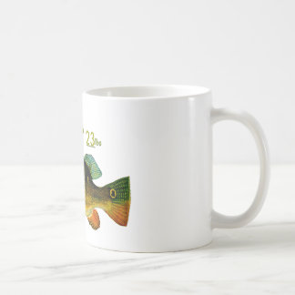 Add your weight Peacock Bass Mug by FishTs.com