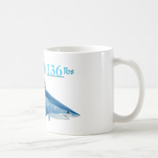 Add your weight to this Mako Shark Mug by FishTs