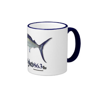 Add your weight Trophy Marlin by FishTs.com Mug