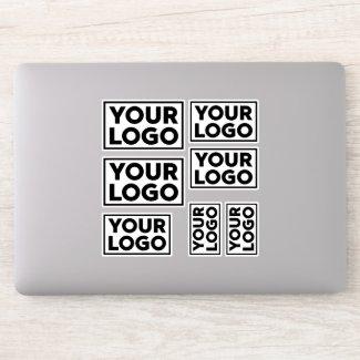 Add Your Wide Business Company Logo Sticker