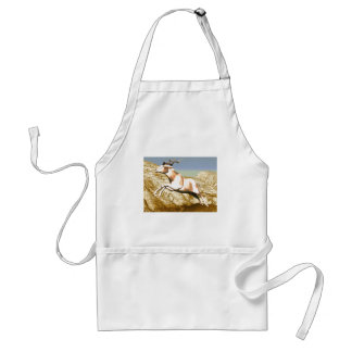 Addax on the Mountain Adult Apron