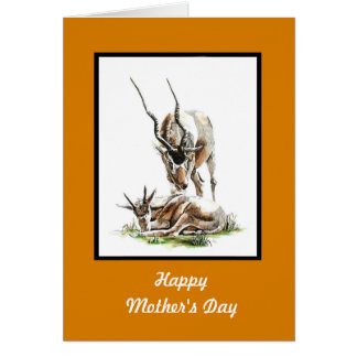 Addax Thank-You card