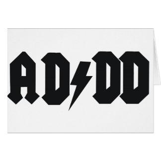 ADDD design Card