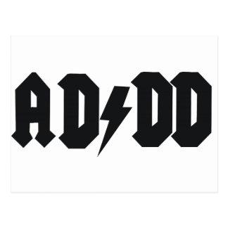 ADDD design Postcard