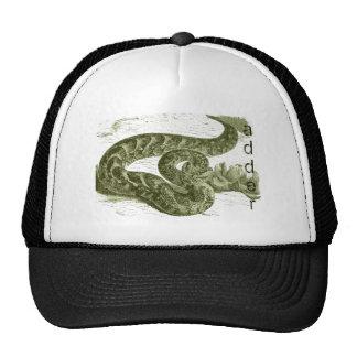 Adder (snake) trucker hat