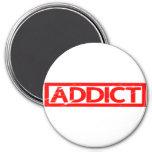 Addict Stamp Magnet