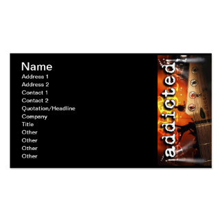 addicted_013 Double-Sided standard business cards (Pack of 100)