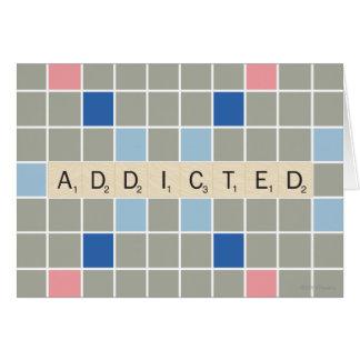 Addicted Greeting Card