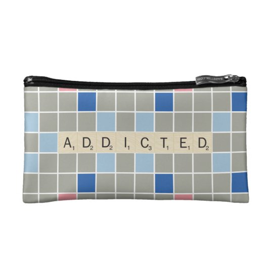 Addicted Cosmetic Bag