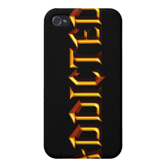 Addicted iPhone 4 Cover