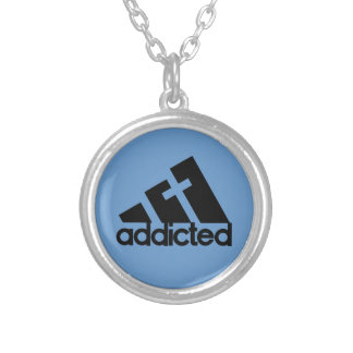 Addicted Silver Plated Necklace