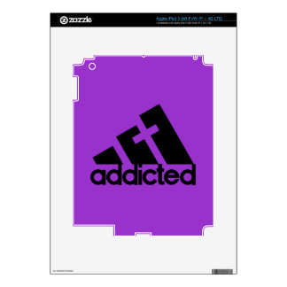 Addicted Decal For iPad 3