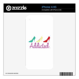 Addicted Skin For The iPhone 4S