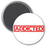 Addicted Stamp Magnet