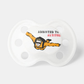 Addicted to Altitude Skydiver Pacifier