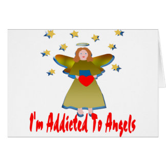 Addicted To Angels Card