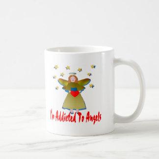 Addicted To Angels Coffee Mug