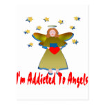 Addicted To Angels Postcard