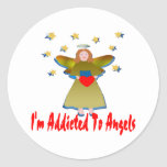 Addicted To Angels Sticker
