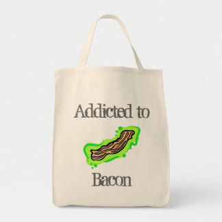 Addicted to Bacon Canvas Bags