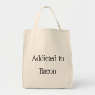 Addicted to Bacon Canvas Bag