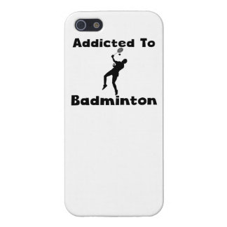 Addicted To Badminton iPhone 5/5S Covers