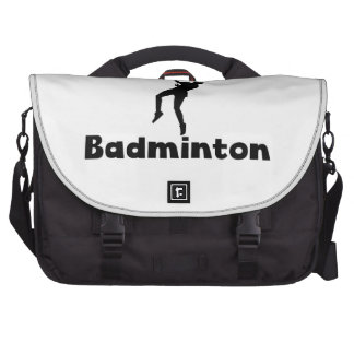 Addicted To Badminton Commuter Bag