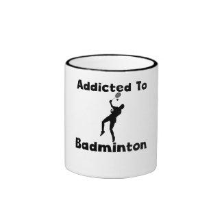 Addicted To Badminton Mug