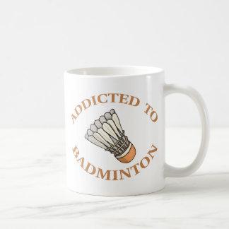 Addicted To Badminton Mugs