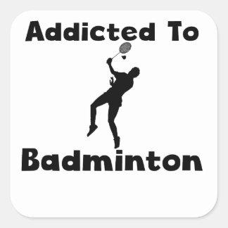 Addicted To Badminton Stickers