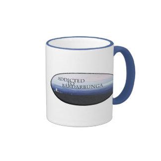 Addicted to Bárðarbunga Ringer Coffee Mug