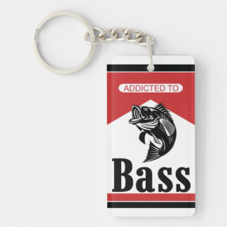 Addicted to Bass Keychain