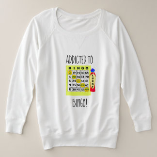 Addicted to BINGO Card and Dabber Shirt