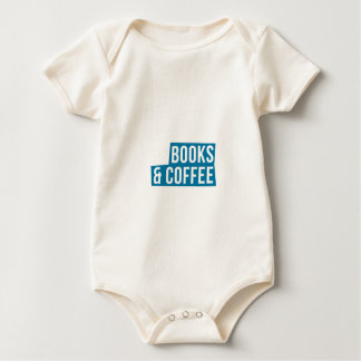 Addicted To Books And Coffee Great Gift Baby Bodysuit